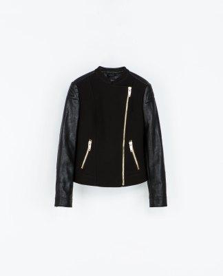 Blouson motard - Zara - 80 Euros
