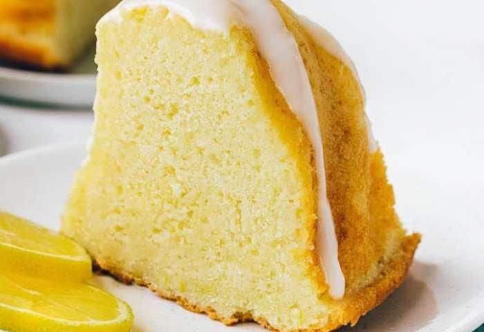 Moist Lemon Bundt Cake Recipe Pretty Simple Sweet
