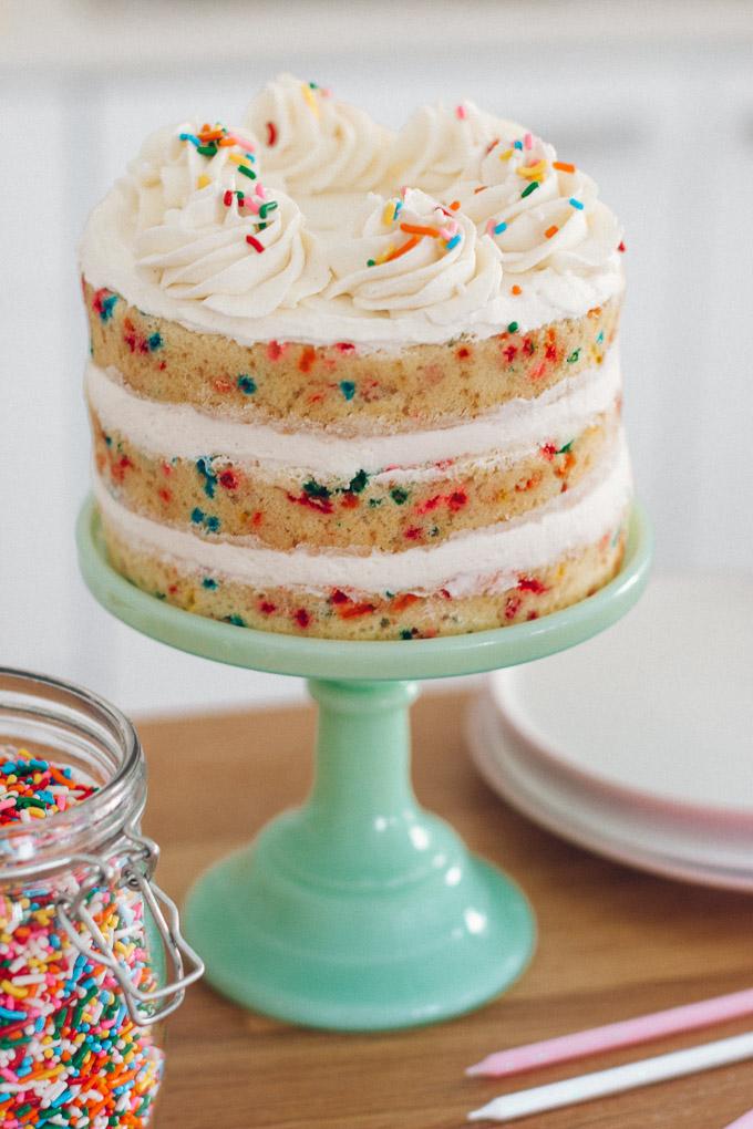 The Best Funfetti Cake Pretty Simple Sweet
