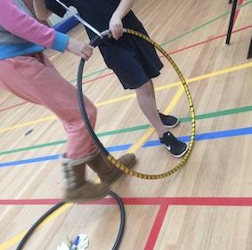 School Holiday hoop workshop