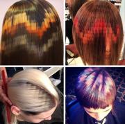 hair dye patterns pretty-sweaty
