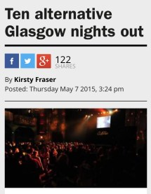 Time Out's Ten Alternative Nights Out in Glasgow