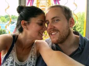 Ferris wheel romantique