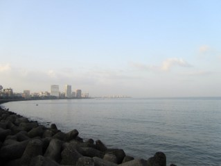 The view from Marine Drive