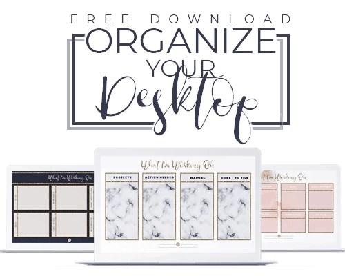 Desktop Organizer Wallpaper Prettywebz Media Business Templates Graphics