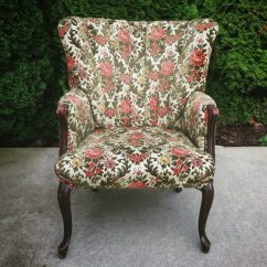 Floral Arm Chair Outdoor Swing Nz Vintage Pretty Little Things