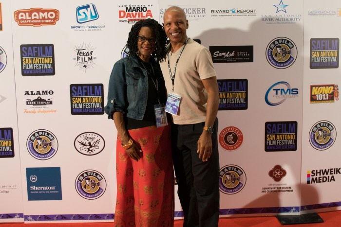 Lisa N. and Elgin Alexander at the San Antonio Film Festival