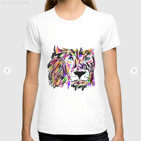 leo lion lines