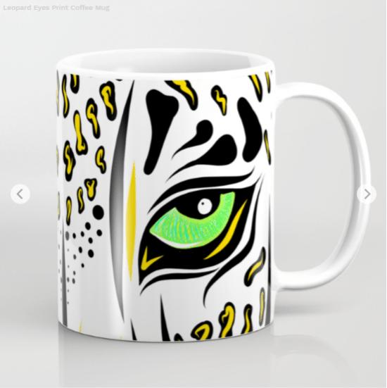 leopard eyes print