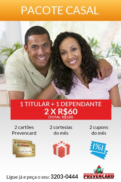 Pacote Cartão Casal