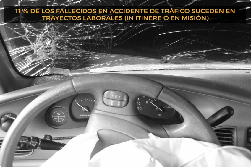 Baja laboral por accidente.