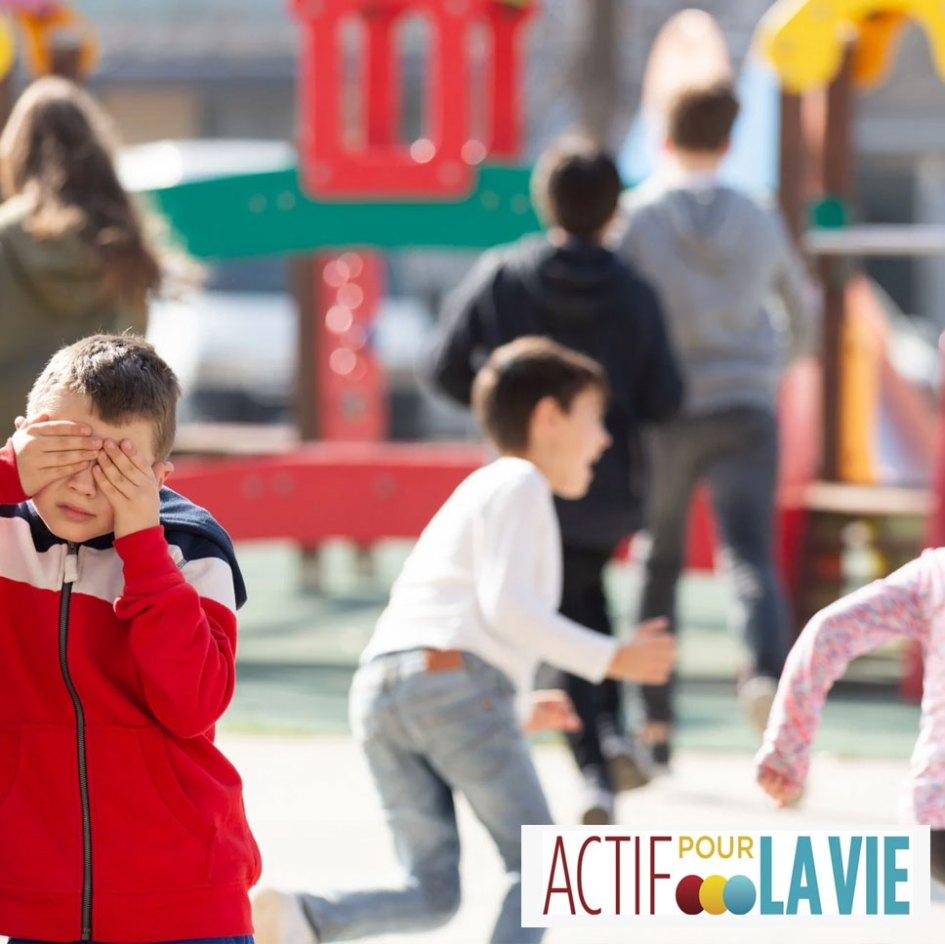 Jeux d'éducation physique à l'extérieur en temps de pandémie