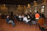 Il discorso introduttivo tenuto da Federica Manzoli, facilitatrice