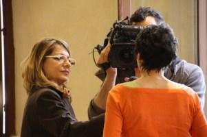 """Un'intervista """"al volo"""" a Federica Manzoli e ad Anna Rosa Fava, Portavoce del Sindaco e Responsabile del progetto"""