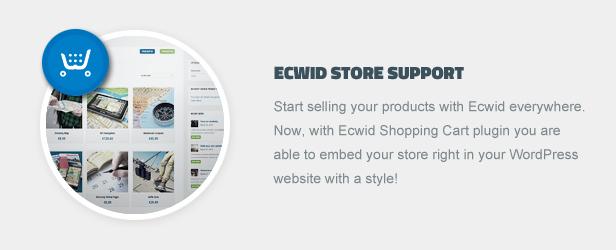 Suporte da loja Ecwid