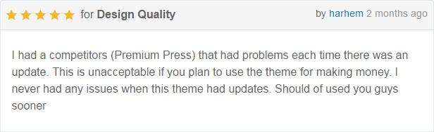 DirectoryPRO WordPress theme - rating3