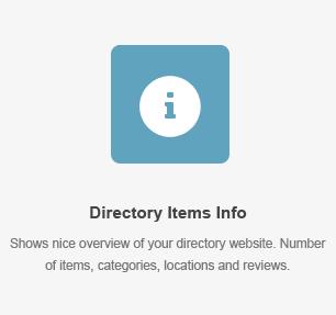 Elementos do diretório Elemento de informação