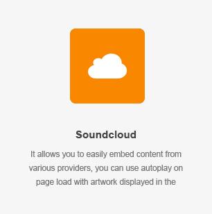 Elemento Soundcloud
