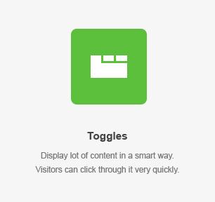 Toggles Element