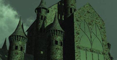 Fantasy Gothic Castle 3D Model $10 vue 3ds lwo Free3D
