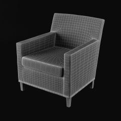 Ikea Karlstad Chair Grey Chaise Lounge 3d Model 12 Max Free3d Royalty Free Preview No 7