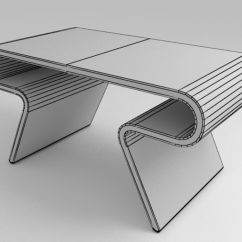 Chair Design Model Leather Gaming Futuristic Furniture Ultramodern Desk Set 3d Royalty Free Preview