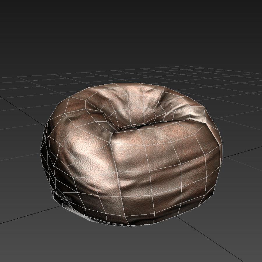Bean Bag Chair 3D Model 3  ma fbx max  Free3D