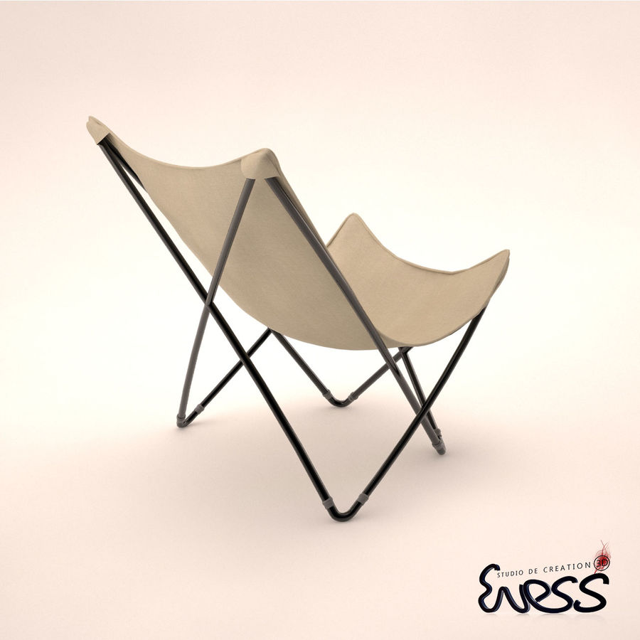 lafuma pop up chair panton s replica maxi cannage 3d model 25 max obj fbx 3ds royalty free preview no 2