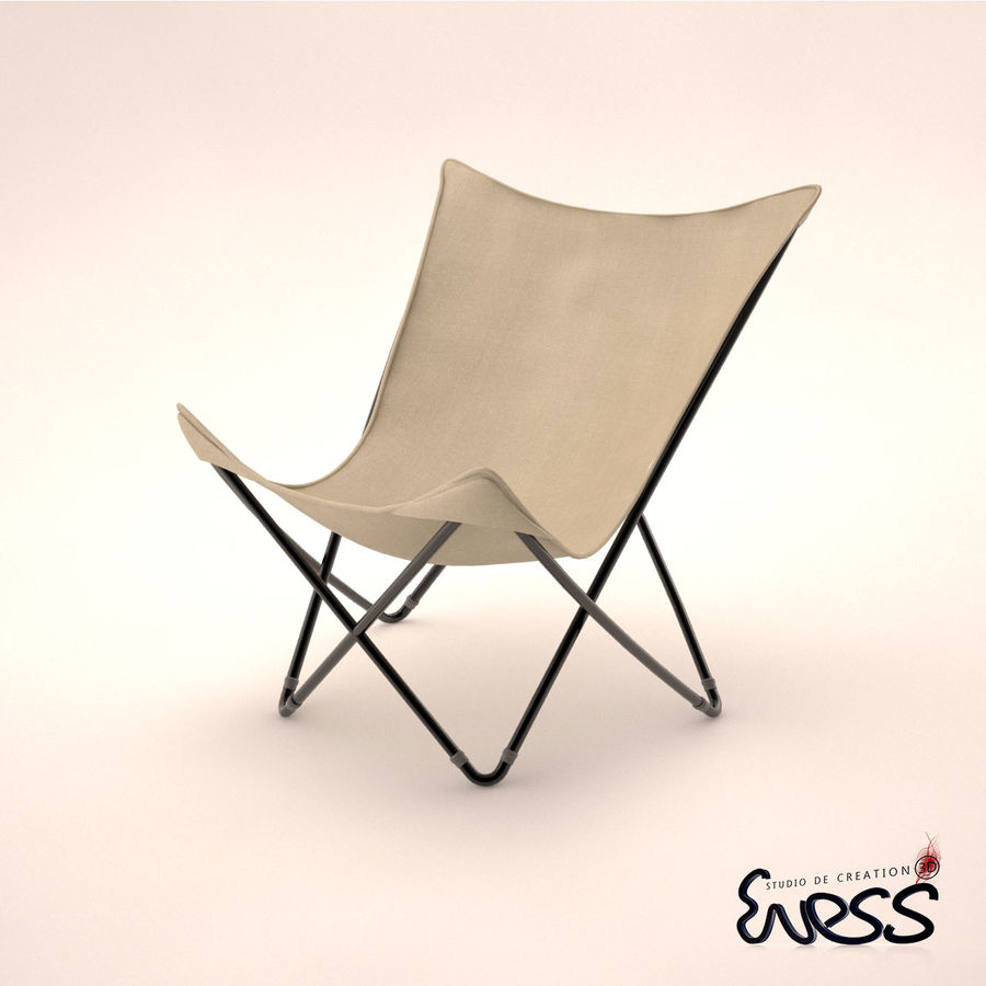 lafuma pop up chairs chair fair weymouth ma maxi cannage 3d model 25 max obj fbx 3ds royalty free preview no 4