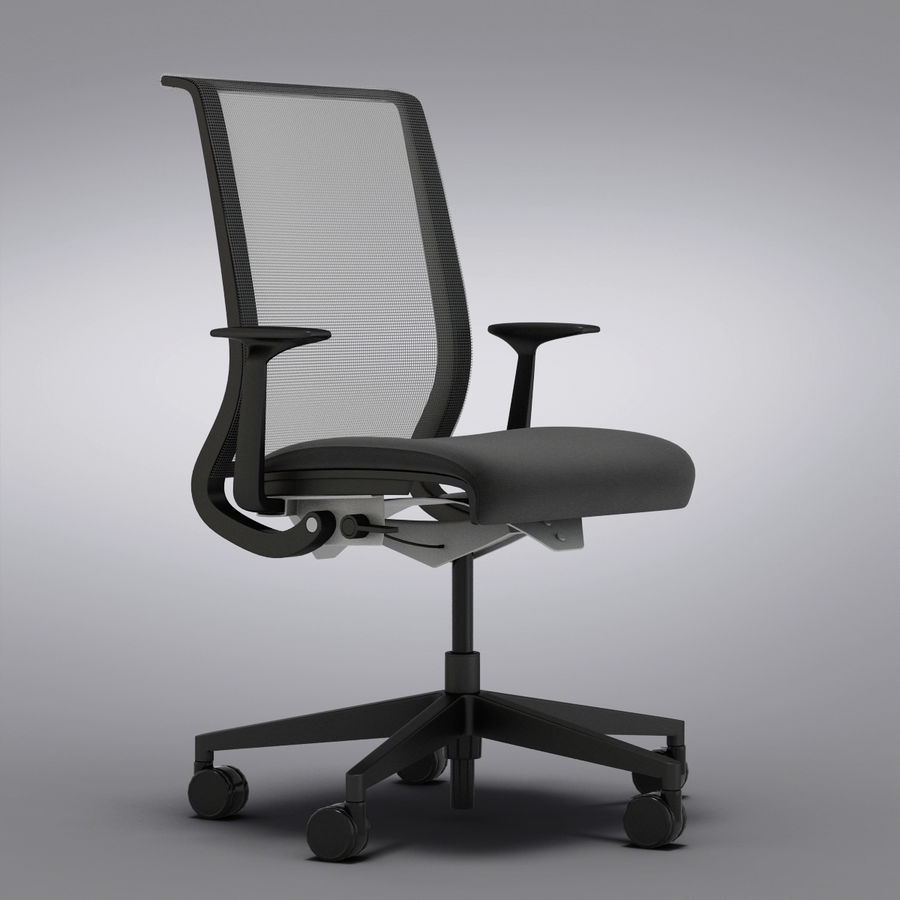 Steelcase Think Chair Crate And Barrel Steelcase Think Office Chair 3d Model 29