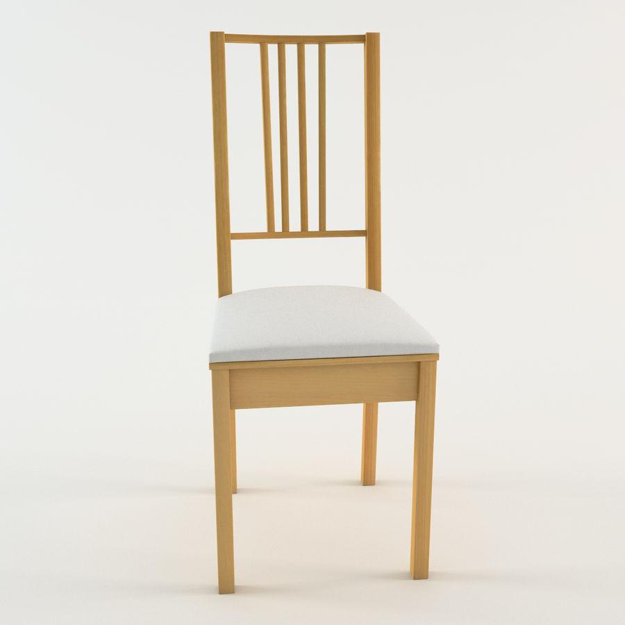 chaise ikea borje modele 3d 39 obj