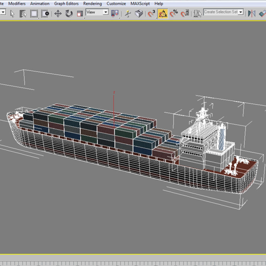 hight resolution of cargo ship royalty free 3d model preview no 12