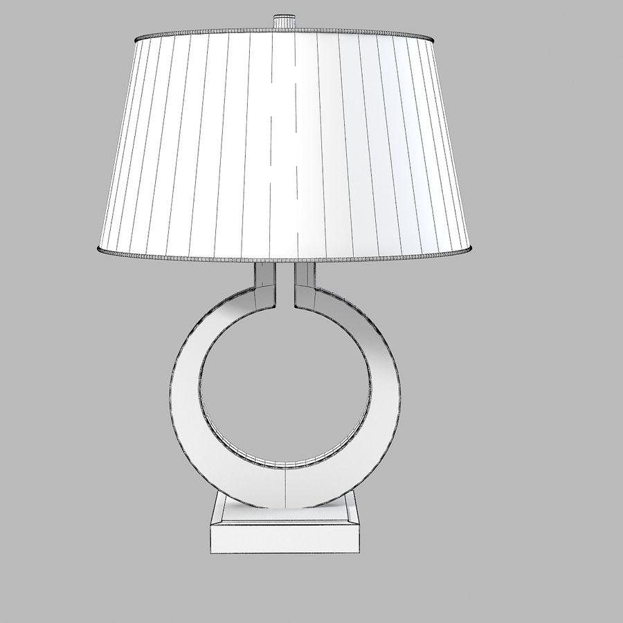 large ring table lamp sandy chapman