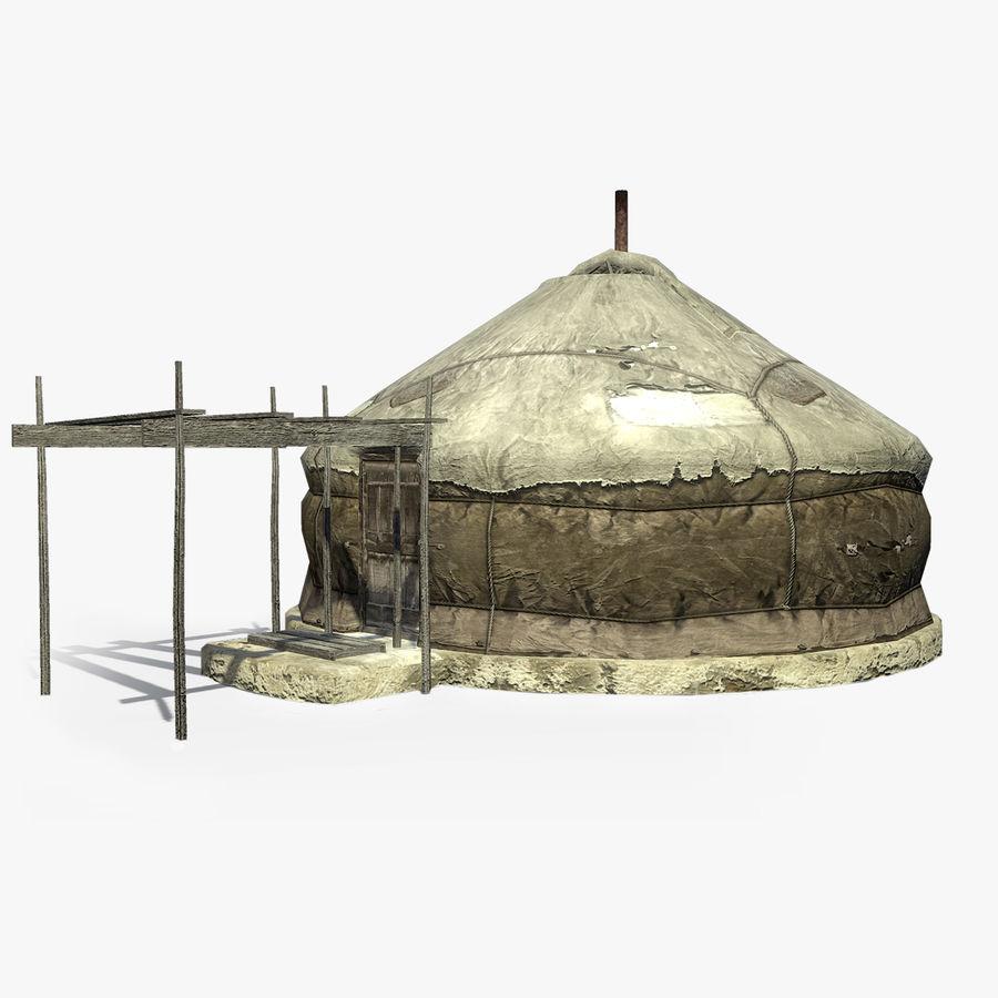 Yurta de Mongolia Modelo 3D 49  max obj fbx dae 3ds