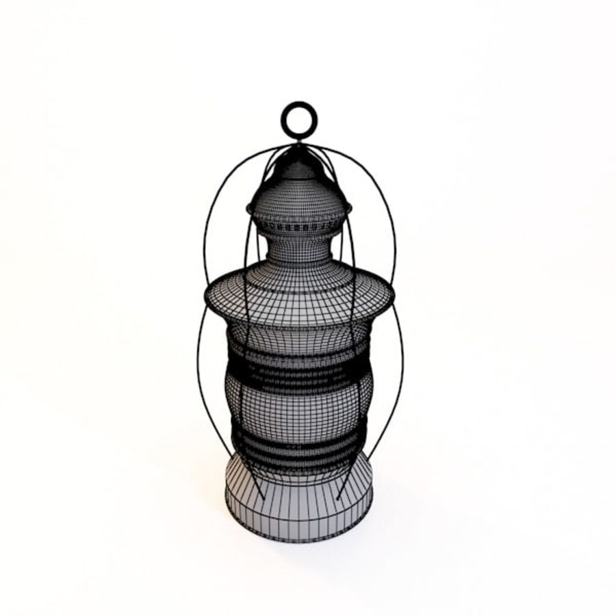 Old Lantern 3d Model 29 Obj Fbx Max Unknown Free3d