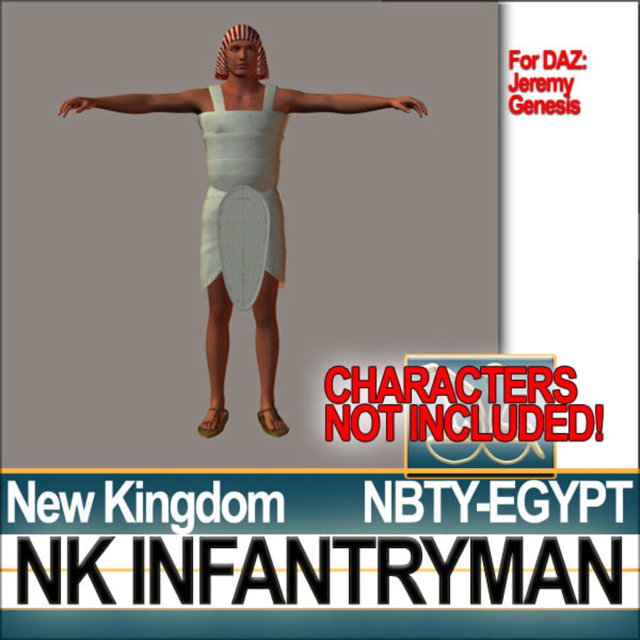 ancient egypt infantryman nk