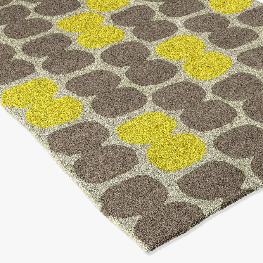 yellow rug ikea 3d model 9 obj max