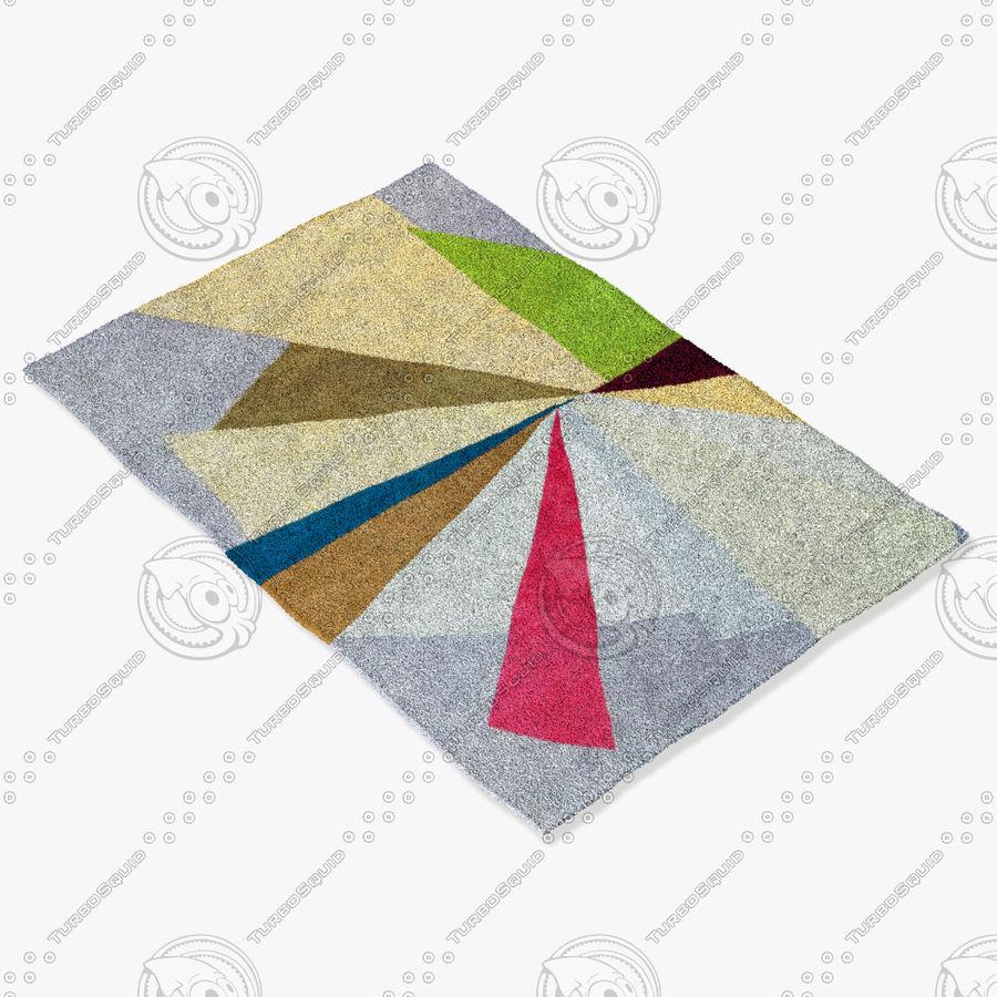 tapis roche bobois eclat modele 3d 9