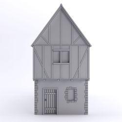 Medieval House 3D Model $22 obj fbx 3ds max Free3D