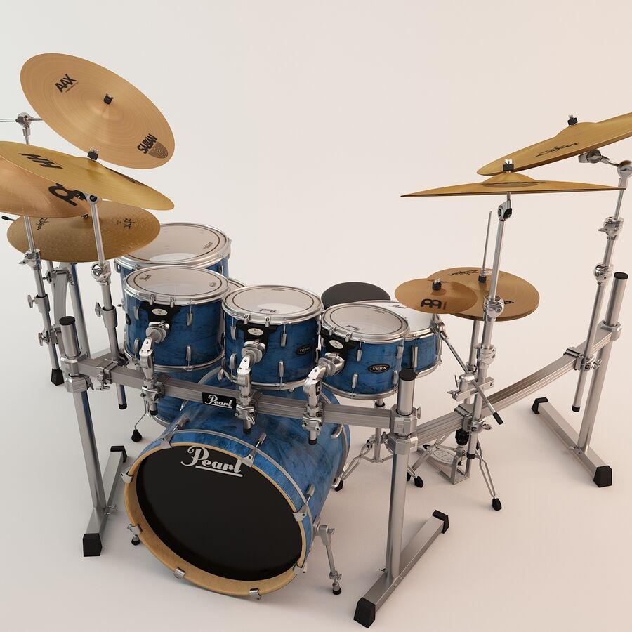 pearl drum rack 3d model 159 fbx
