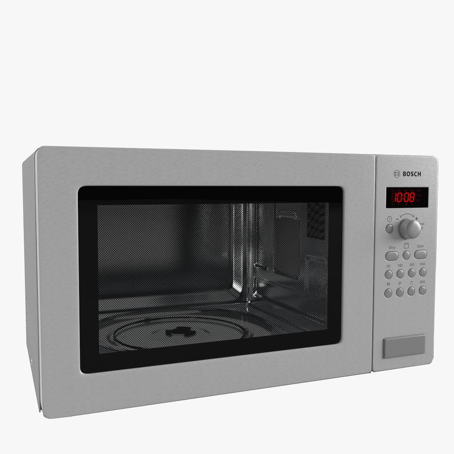 microwave oven bosch 3d model 59