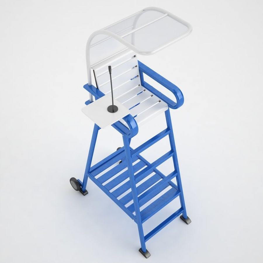 folding umpire chair bungee jumping tennis 04 3d model 29 wrl oth obj fbx 3ds max royalty free preview no 7