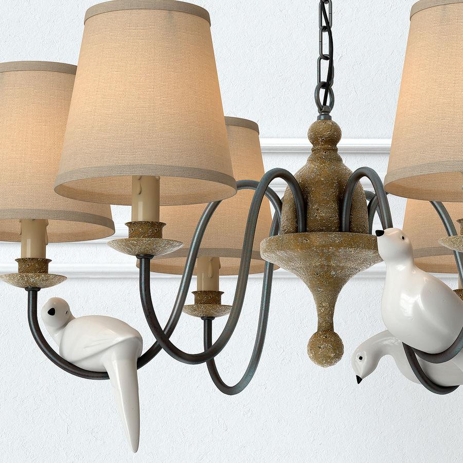 bird chandelier 1 3d model 19 max