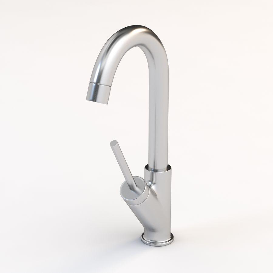 axor starck bar kitchen faucet 3d model