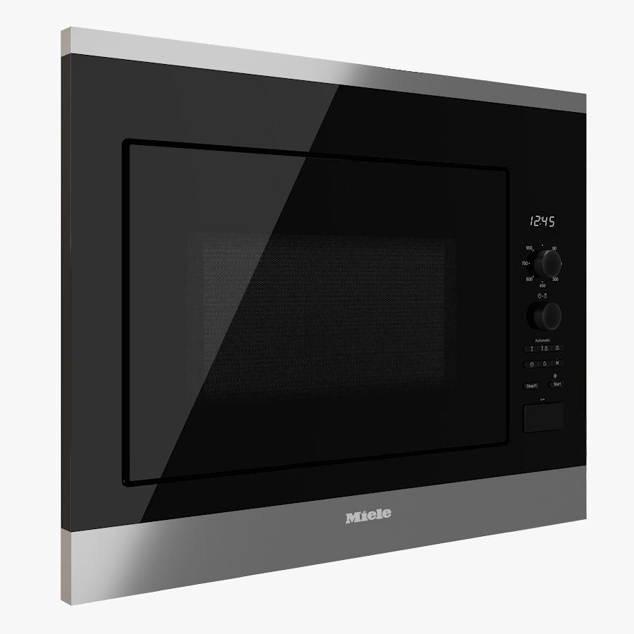 microwave oven miele m 6040 sc 3d model
