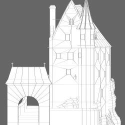 Medieval House 3D Model $30 blend Free3D