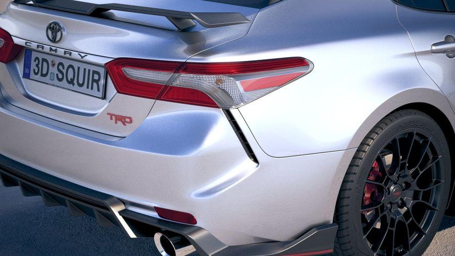 toyota camry trd 2020 3d model 169