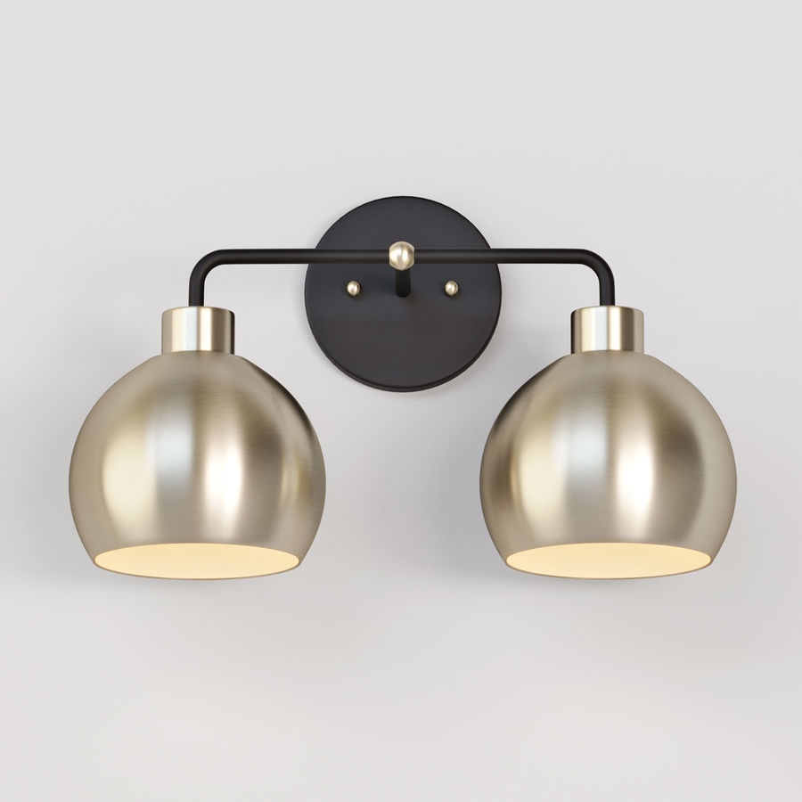 young house love bubble vanity light 3d