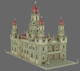 Medieval Fantasy Castle V2 3D Model $29 c4d max fbx obj ma Free3D