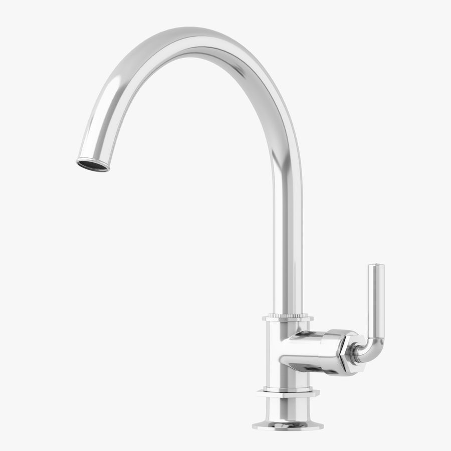 waterworks henry kitchen faucet 3d